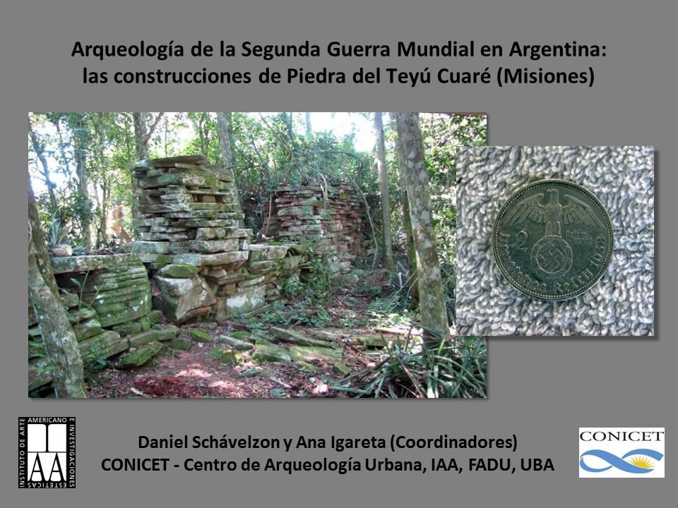 Arqueología de la Segunda Guerra Mundial en Argentina