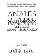 Anales N°27 - 28 (Años 1989-1991)
