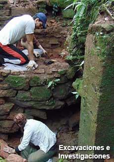 Excavaciones e investigaciones