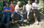 Excavaciones en el lago Victoria Ocampo